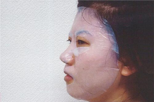 バイオセルロースマスクの密着度